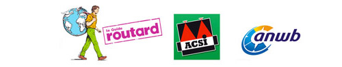 Camping reconnu par Le Routard, Vacaf, ACSI, ANWB